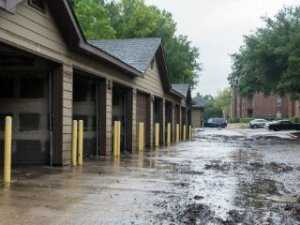 Image of flooded houses used to indicate posts about the construction industry and mold
